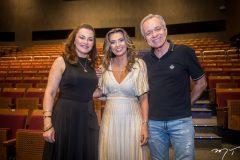 Lúcia Praciano, Márcia Travessoni e Tadeu Costa