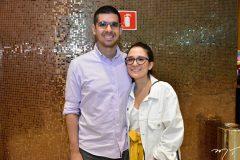 Luca Fortaleza e Ana Maria Luna