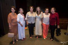 Luzia Vasconcelos, Consuelda Andrade, Norma Maranhão, Márcia Travessoni, Etel Rios e Neusa Bentes