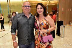 Márcio Menezes e Izabela Fiuza