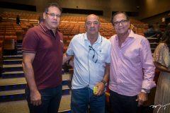 Marcos Medeiros, Fernando Travessoni e Beto Studart