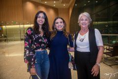 Michele Nasser, Daniela Camurça e Rita Nasser