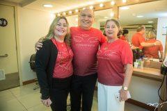 Paula Franco, Pe. Eugênio e Consuelda Andrade