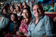 Sarah, Manoela e Ricardo Bacelar