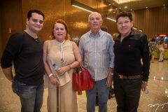 Ricardo, Aparecida e Luiz Alencar e Roberto Lúcio