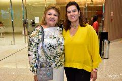Rosa Meireles e Márcia Teixeira