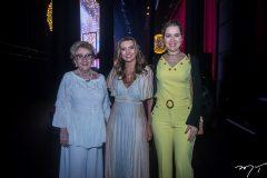 Socorro França, Márcia Travessoni e Onélia Santana