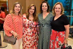 Suyane Dias Branco, Martinha Assunção, Cláudia Gradvohl e Tânia Teixeira