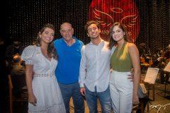 Márcia, Fernando, Fernando Travessoni e Eduarda Aragão