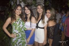 Bárbara Aragão, Amana Furtado, Topázio White e Juliana Raz