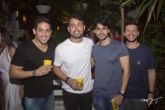 Breno Vasconcelos, Bruno Anderson, Rafael Ribeiro e Bruno Serra