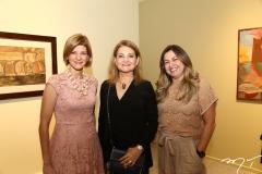 Cristina Praça, Lenise Queiroz e Ana Quezado