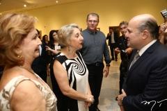 Fátima Veras, Regina Teixeira de Barros e Roberto Cláudio