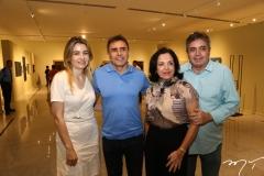 Luciana e Pedro Lima e Elusa e Totonho Laprovitera