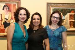 Mara Vieira, Fabíola Bezerra e Juliana Mamede