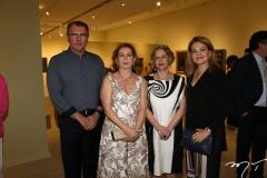 Randal Pompeu, Fátima Veras, Regina Teixeira de Barros e Lenise Queiroz