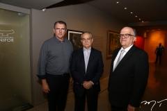 Randal Pompeu, Max Perlingeiro e Fernando Ximenes