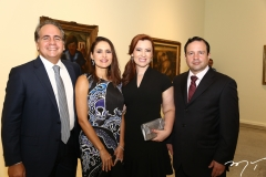 Ricardo e Manoela Bacelar, Aline Félix e Igor Queiroz Barroso