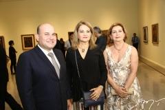 Roberto Cláudio, Lenise Queiroz e Fátima Veras