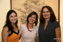 Sofia Chagas, Rita Raquel e Flora Lima