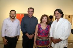Thiago, Randal, Renata Jereissati e Mauríco Cals
