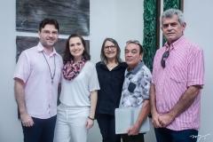 Alexandre Reis, Andréa Dall'Olio, Jacinta Cavalcante, Jota Pinheiro  e Dan Santos