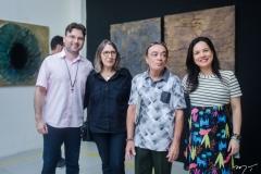 Alexandre Reis, Jacinta Cavalcante, Jota Pinheiro e Cristiane Siqueira