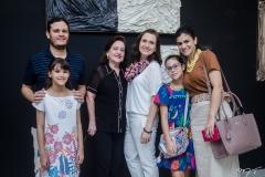 Ivo Carvalho, Giovana,Lígia, Andréa, Maria Giulia e Adriana Dall'Olio-3