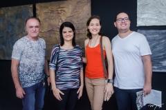 Joel Filho, Adriana Brasil, Natércia Aguiar e Eduardo Falcão