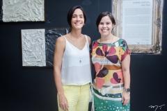 Karine Studart e Larissa Porto