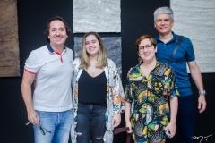 Rodrigo Parente, Anyna Nobre, Azuli e Leonardo Leal