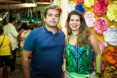 Axel Vasconcelos e Daniela Leitão