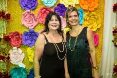 Beth Barros e Élida Escócia