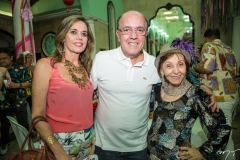 Cristiana e Fernando Esteves e Rosa Macambira