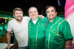 Élcio Batista, Pedro Jorge Medeiros e Jardson Cruz