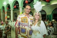 Epitácio Oliveira e Érica Queiroz