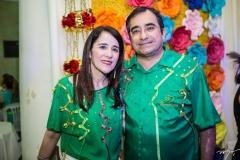 Fátima Gonçalves e Jardson Cruz