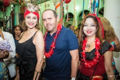 Fátima Oliveira, Roberto Pamplona e Marjorie Barreira