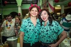 Ivana Guedes e Gina Pompeu