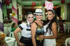 Junieide Reis, Maslova Mesquita e Débora Domingos
