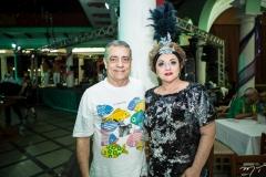Laerte Fernandes e Alessandra Aragão