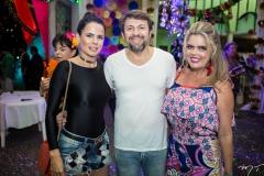 Luciana Sousa, Élcio Batista e Waleska Rolim