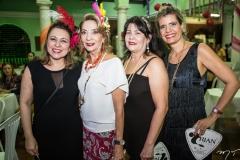 Nair Pontes e Ezilda Egídio, Beth Barros e Elida Escócia
