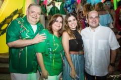 Pedro Jorge e Viviane Medeiros, Carol Bezerra e Roberto Cláudio