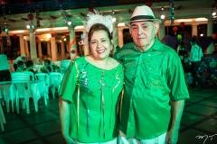 Regina Carvalho e Avelino Dutra