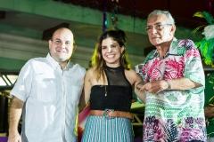 Roberto Cláudio, Carol Bezerra e José Rêgo