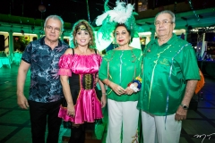Rui Guilhon, Flávia, Yolanda e Meton Vasconcelos