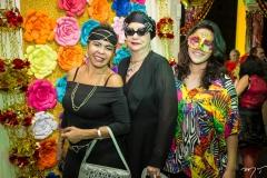 Selma Cabral, Mazé e Rebeca Campos