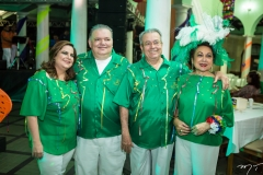 Viviane e Pedro Jorge Medeiros, Meton e Yolanda Vasconcelos