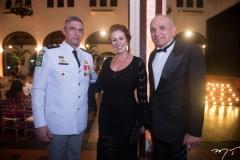Aginaldo Oliveira, Carla Zambelli e  Licínio Correa